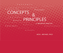 a square graphic representing Concepts and Principles of Behavior Analysis